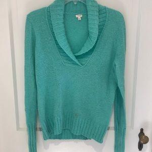 J. Crew teal sweater